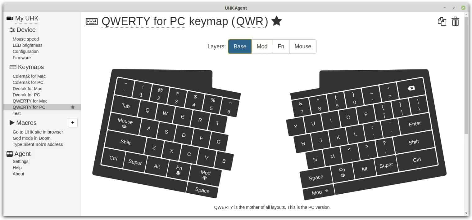 Ultimate Hacking Keyboard – The keyboard  For professionals