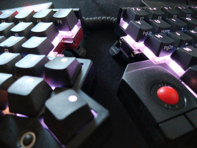 PBT keycaps with side legends
