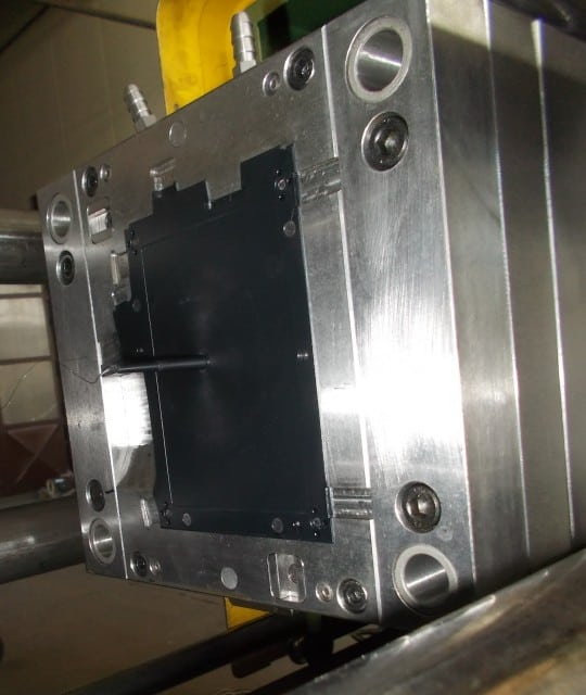 Right bottom UHK case in the mold