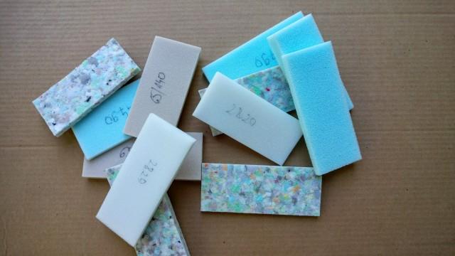 Foam samples