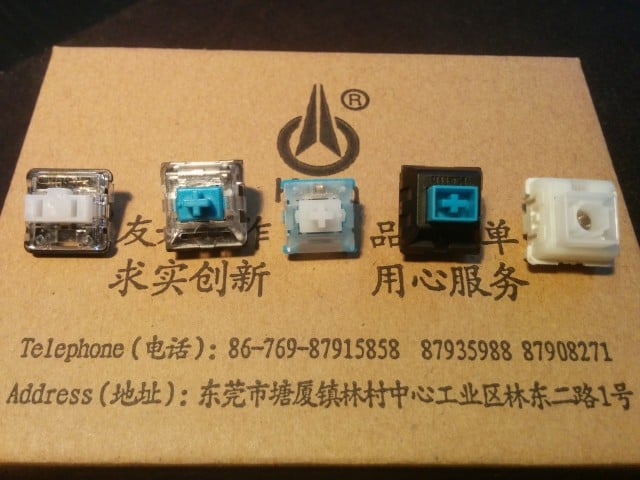 Special Kailh keyswitches