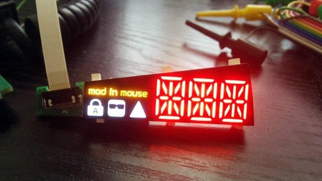 LED display shining bright