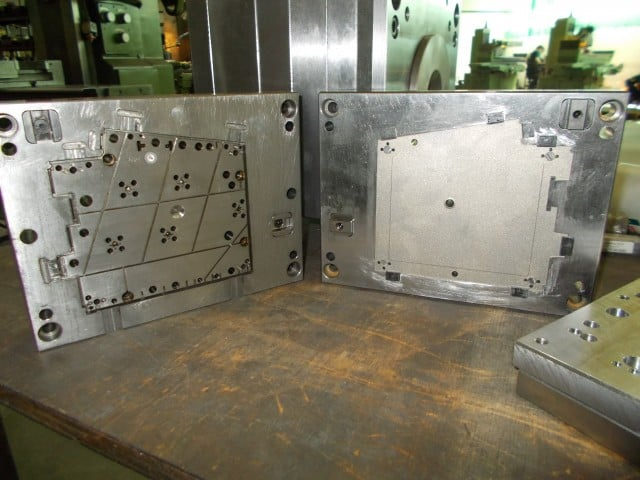 The molds of the bottom cases