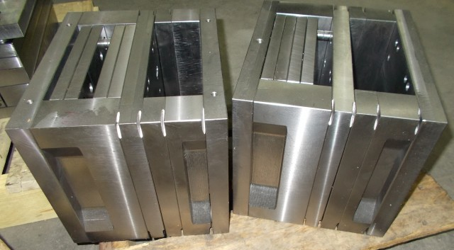 Molds of the top case parts
