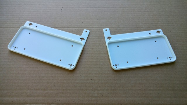 3D printed base plates for the palm rest