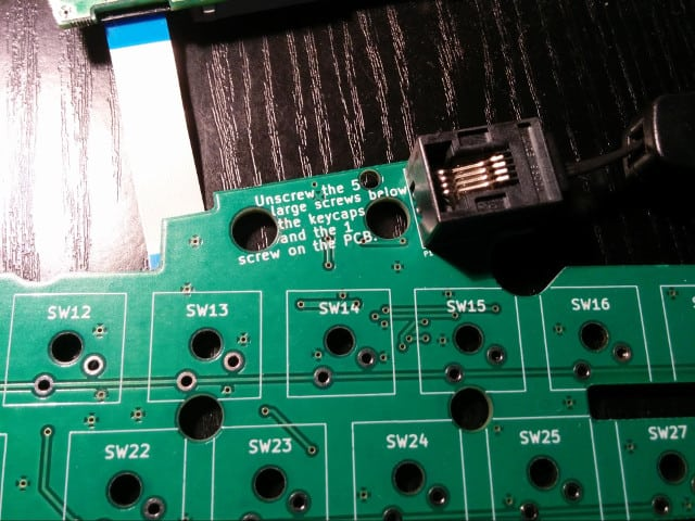 Displaying disassembly instructions on the PCB is one of our many ways to make repair easier.