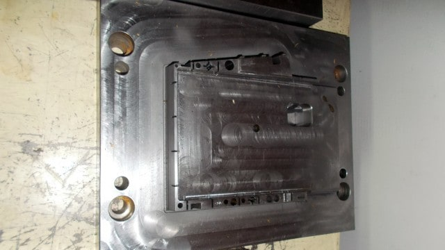 The mold of the top left case part