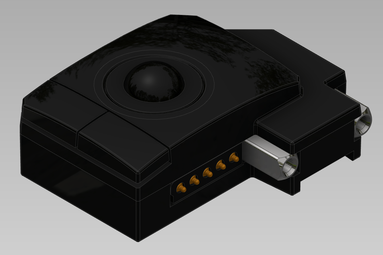 News Page 2 Ultimate Hacking Keyboard Gives Mindf Movies A New Meaning Hacks Mods Circuitry Andrs Has Been Working On Them Recently And This Is The Latest Probably Final Design Of Trackball Module