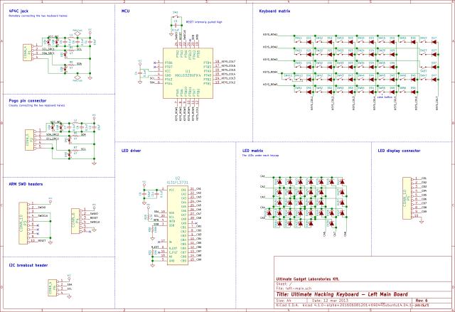 UHK PCB v6pre left schematic